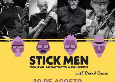 Stick Men+David Cross                            30 de agosto en Teatriz.
