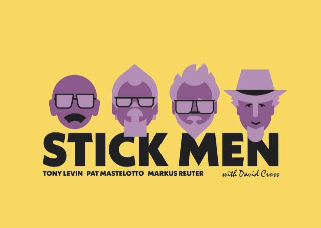 Ya están a la venta las entradas para Stick Men+David Cross en Mar del Plata