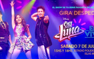 Ya se pueden retirar las entradas para Soy Luna en Vivo en Mar del Plata