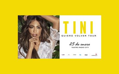 """Ya están a la venta las entradas para """"Quiero volver Tour"""", el show de TINI que llega a Mar del Plata"""