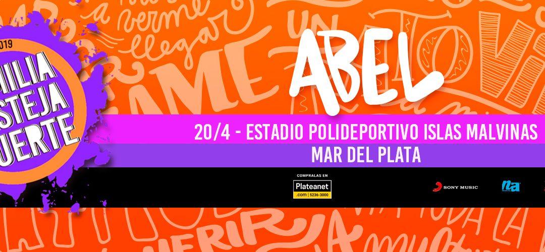 La Familia Festeja Fuerte: Abel Pintos regresa a Mar del Plata