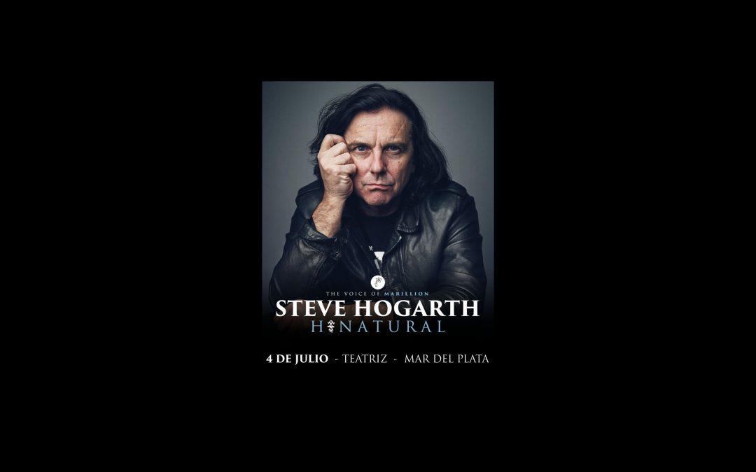 Por primera vez en Mar del Plata, Steve Hogarth dará un concierto el próximo 4 de julio