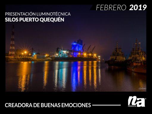 Presentación Luminotecnica – Puerto de silos Quequén